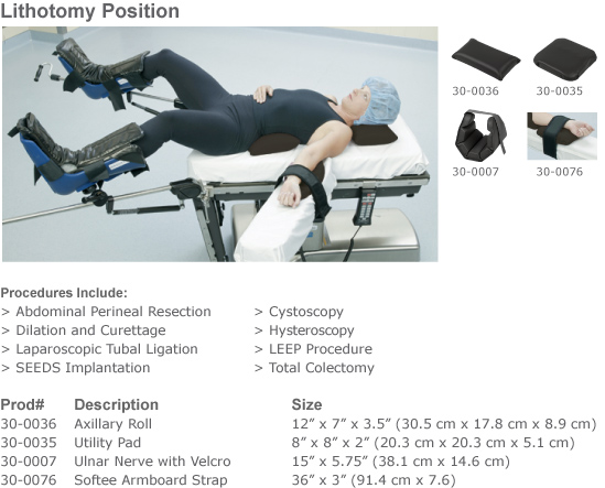 Healthcare Positioners Airsoft 174 Surgical Positioning Kits